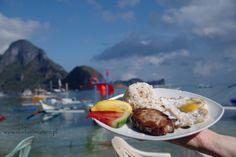 Breakfast in El Nido, Palawan