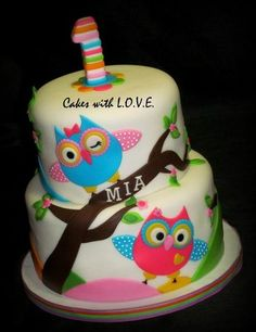 20 Owl themed birthday cakes we love