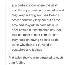 This would be amazing! I need a book written and/or a movie about this