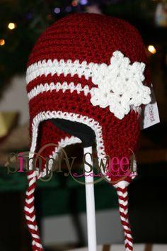 Snowflake Hat By Melinda Kong - Free Crochet Pattern - (simplysweetcreate.blogspot)