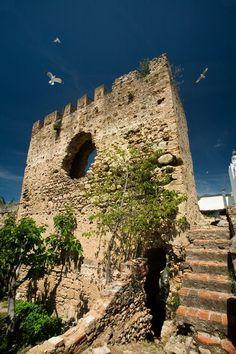 Marbella. Vestigios del castillo Árabe.