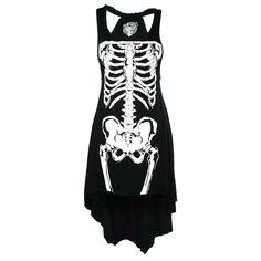 LA Skeleton - Naisten mekko (koko XS-S)