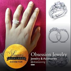 @obsessionng will showcase bespoke rings & accessories #sugarrushlagos  The date is 10th of July 2016 The venue is InterContinental Lagos. 52 Kofo Abayomi Victoria Island Lagos Limited Booths Still available!!!! To exhibit send an email to rush@sugarweddings.com or call 08170347755 for more details. Hurry Now!!! #accessiories #weddingrings #sugarrushlagos #fun #loveit