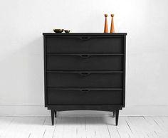 Mid Century Wood Dresser -