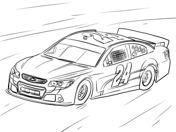 Jeff Gordon NASCAR Auto Kleurplaat Sports Coloring Pages Cars Adult