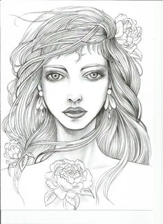Moon Coloring Pages, Free Adult Coloring Pages, Coloring Pages To Print, Coloring Books, Easy Disney Drawings, Cute Drawings, Print Pictures, Colorful Pictures, Line Art