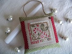 Little House Needlework--Peppermint