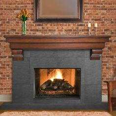 fireplace mantels - Yahoo Search Results