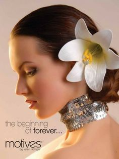 Motives makeup for wedding photos