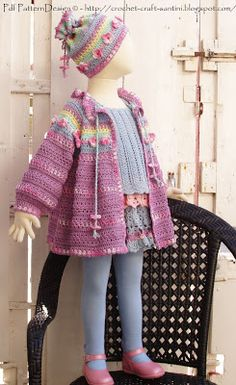 Sophie and Me: NEW SUMMER CARDIGAN PATTERN PUBLISHED TODAY!