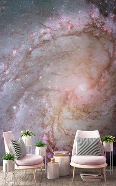 Spiral Galaxy Wallpaper Space Themed Design MuralsWallpaper Spiral Galaxy Wallpaper Space Themed Design MuralsWallpaper Ela Einrichten und Wohnen The beautiful colours and complex detail nbsp hellip Painting wallpaper Wallpaper Space, Galaxy Wallpaper, Office Wallpaper, Painting Wallpaper, Painting Walls, Painting Furniture, Wallpaper Edge, Living Room Wallpaper, Bedroom Wallpaper Murals