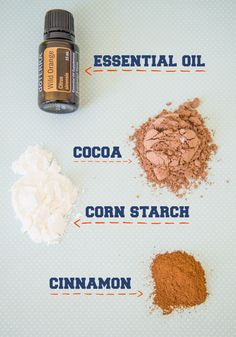 your own dry shampoo that works as well as store-bought, but without all the chemicals. Way cheaper too!Make your own dry shampoo that works as well as store-bought, but without all the chemicals. Way cheaper too! Homemade Beauty, Diy Beauty, Beauty Hacks, Beauty Bar, Cinnamon Essential Oil, Essential Oils, Shampoo Seco, Limpieza Natural, Beauty Recipe