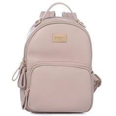 13ebbb507c89 DAVIDJONES Synthetic Leather Small Mini Shoulder Bag Backpack Review Purse  For Teens