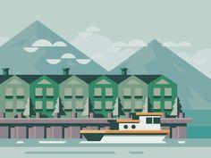 Helgoland by Scott Tusk #Design Popular #Dribbble #shots