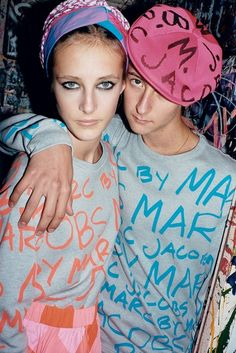 graphic tees - P: Juergen Teller (Marc by Marc Jacobs SS 2013 Campaign)