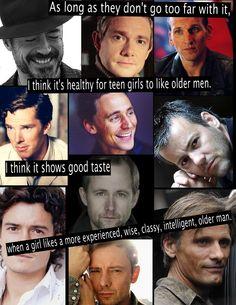 Why do i like older men so much