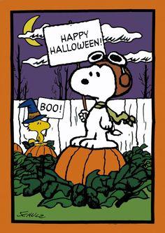 happy halloween snoopy