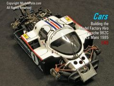 Plastic, Resin and Diecast Scale Model Cars - Modeler Site - Marine And Land Vehicles New Model Car, Model Cars Kits, Tamiya Models, Diecast Model Cars, Gt Cars, Race Cars, Airfix Models, Racing Car Design, Porsche Motorsport