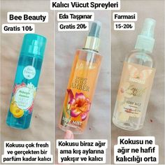 Body sprays I like to use. Look at the ready gratist with a discount . Beauty Care, Diy Beauty, Beauty Makeup, Beauty Hacks, Bath Body Works, Girl Life Hacks, Healthy Oils, Face Skin Care, Body Mist