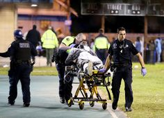 NEW ORLEANS (AP) — Hundreds of people were gathered at a New Orleans playground for a music video shoot when two groups in the crowd opened fire on each other, wounding 16 people in the shocking Sunday