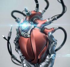 Aleksandr Kuskov's vision of a mechanical heart
