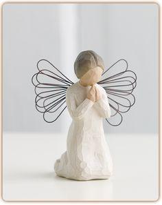 """Angel of Prayer""-Willow Tree Angel"