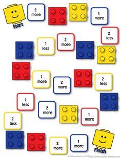 Fräulein Löwenzahn wird Kindergärtnerin: Mathematik mit Lego