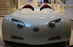 Toyota concept car - looks like a cat!!