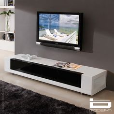 Editor TV Stand In White By B Modern