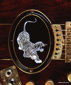 Herbie Green's complete gallery of Grateful Dead Art, Grateful Dead Artwork and Rock and Roll Photography Grateful Dead Image, Grateful Dead Poster, Unique Guitars, Vintage Guitars, Tiger Images, Jerry Garcia Band, Guitar Inlay, Miss Your Face, Famous Guitars