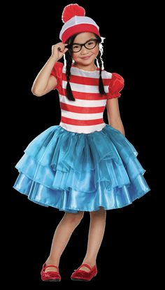 Nostalgic Character costumes Where's Waldo Image Credit: Spirit Halloween  via @AOL_Lifestyle Read more: http://www.aol.com/article/2014/12/19/an-easy-and-delicious-recipe-for-homemade-eggnog-chai-lattes/21119191/?a_dgi=aolshare_pinterest#fullscreen