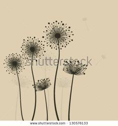 Dandelion | Handlettering | Pinterest | Pusteblume ...