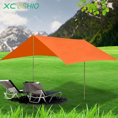 56.49$  Buy here - http://ai6cy.worlditems.win/all/product.php?id=32700909221 - New Multifunction rain proof beach fishing Hiking Hike  awning canopy tarp outdoor sunshade park camping pergola canopy tent