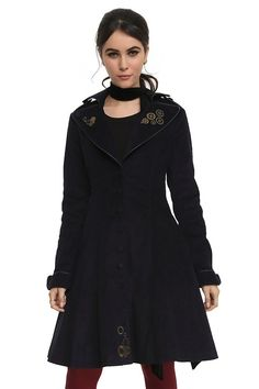 """This New """"Doctor Who"""" Clothing Line Is Size-Inclusive And Awesome--- need this coat!"""