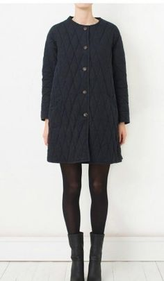 Helston Quilt Jacket by Plumo // fitting for trotting around London