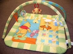 Amazon.com: Disney Winnie the Pooh Baby Toy Play Mat Gym: Baby