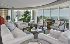 Collector's Escape Living Room by W Design