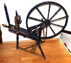 Schwedisches Spinnrad ca 97Jahre voll funktionsfähig in Niedersachsen - Stade   Basteln, Handarbeiten und Kunsthandwerk   eBay Kleinanzeigen