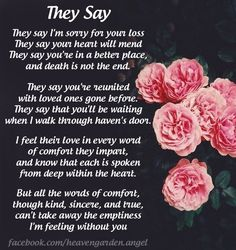 So True, mommy loves & misses u Joshua! Memorial poems – I'm feeling without you – Heavens Garden Missing My Husband, I Miss My Mom, Miss You Daddy, My Daddy, Grief Poems, Dad Poems, Mom In Heaven, Funeral Poems, Grieving Quotes