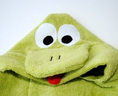 Free How to make this cute Froggy towel