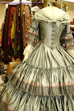 Victorian Era Dresses | in the victorian era in which dresses would be more like this