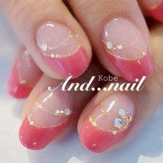 Embellished pink french