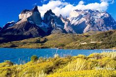 Patagonia, Argentina / Chile: There are multiple world renowned hiking trails in this region, including the Monte Fritz Roy trail in the Parque Nacional Los Glaciers and the trails in Torres del Paine National Park, Chile. Beautiful Places In The World, Places Around The World, Around The Worlds, Amazing Places, Parc National Torres Del Paine, Places To Travel, Places To See, Places Worth Visiting, Greek Isles