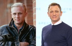 Daniel Craig Then and Now Celebrities Then And Now, Young Celebrities, Beautiful Celebrities, Celebs, Tilda Swinton, Rachel Weisz, Hot Actors, Actors & Actresses, James Bond