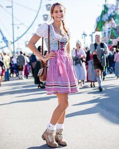 Streetstyle Wiesn: Die schönsten Outfits vom Oktoberfest - BRIGITTE