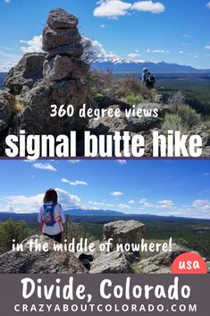 Signal Butte Hike is Weird and Wonderful Snowshoe, Colorado Hiking, Colorado Mountains, Colorado Springs, Rafting, Snowboard, Mtb, Forest Service, Adventure Travel