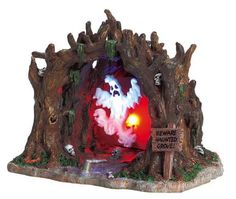 Lemax Spooky Town Accessory: Haunted Grove, Battery-Operated