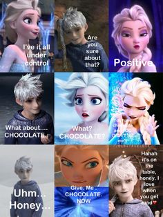 Jelsa all the way! Disney Jokes, Funny Disney Memes, Disney Fun, Disney Stuff, Elsa Frozen, Disney Frozen, Frozen Princess, Disney Princess, Jelsa