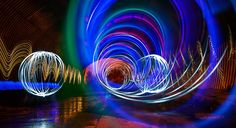 Painting with light by Mike Pearce  #light_art