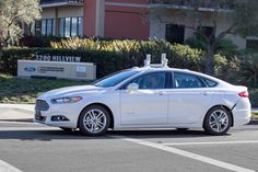Ford will test driverless cars in California next year